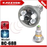 BC-688 Automatic Control Light and Video Recording Bulb  DVR Camera