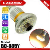 BC-885Y Wifi Bulb IP P2P DVR Camera with 5W Yellow(WARM) LED Light