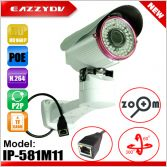1.3M HD960P POE PTZ Bullet P2P Outdoor IP Network DVR Camera