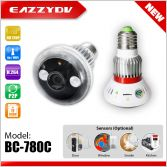 BC-780 HD720P WiFi Bulb IP Network DVR Camera + Wireless Alarm Sensors(optional)