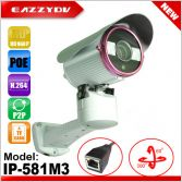 3M HD POE Pan/Tilt P2P Outdoor IP Network DVR Camera