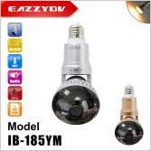 IB-185YM rotatable wifi bulb IP camera with 5w warm light, mirror cover