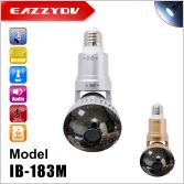 ib-183M Rotatable wifi bulb IP camera with 3 watt lamp, mirror cover camera